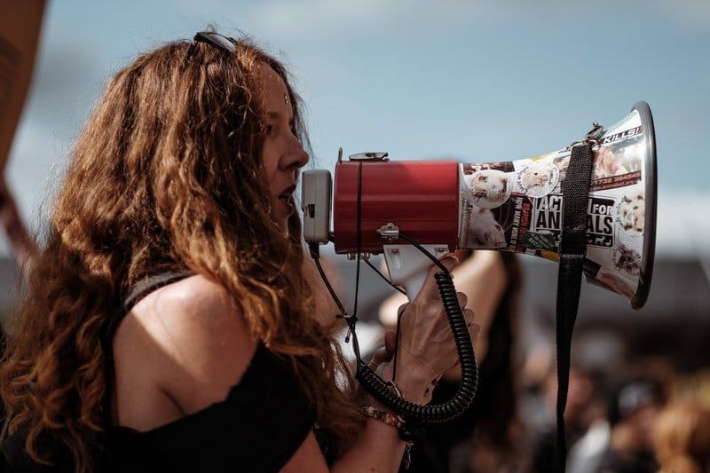 The activist student
