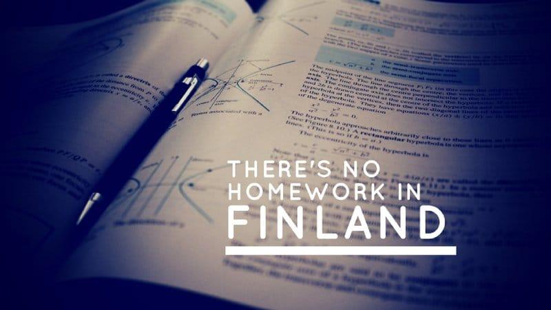 no more homework education trend
